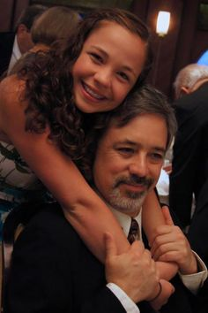 The beautiful daughter of a wonderful father, my son Alfonso Zubizarreta and his daughter Cristina