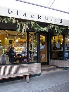 Blackbird Bakery, Bainbridge Island, WA. Everything is soo good and it's soo worth the ferry ride.