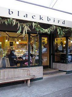 Blackbird Bakery, Bainbridge Island, WA. Everything is soo good and it's soo worth the ferry ride.