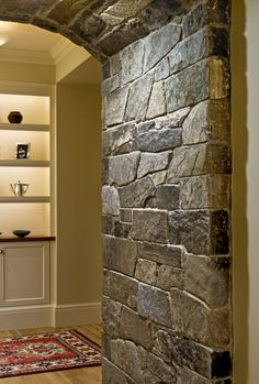 Great stone wall