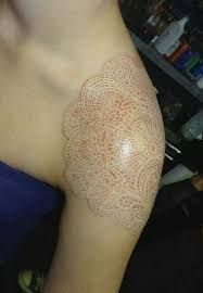 Image result for brown ink tattoo