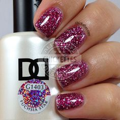 Daisy Duo Fuchsia Star Swatch by Chickettes.com