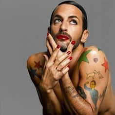 Marc Jacobs wearing it like only he could...