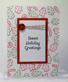 Your Next Stamp - Sweet Holiday Greetings #yournextstamp