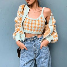 Mode Chic, Mode Style, Aesthetic Fashion, Aesthetic Clothes, Aesthetic Hair, Brown Aesthetic, Cute Casual Outfits, Retro Outfits, Crochet Clothes