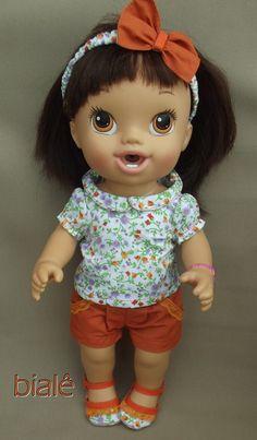 Roupas para Baby Alive: na medida certa para a boneca Bons Sonhos. Confira!