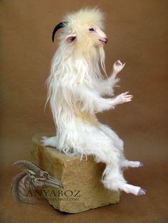 Angora Goat Room Guardian by AnyaBoz.deviantart.com on @DeviantArt