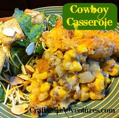 Cowboy casserole from Crafty Home Improvement (Mis)Adventures
