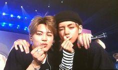 you're the jimin to my taehyung I Love Bts, My Love, Bts Vmin, Bts Maknae Line, Love U Forever, Bts Group, Taemin, Taekook, Taehyung