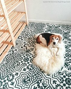 Wall, Floor & Furniture Stencils Inspire Interiors on Instagram - 23 Easy DIY Decor Ideas - Royal Design Studio