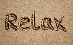 Creative Wallpaper - Relax on the beach sea sand wallpaper