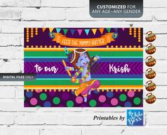 Krishna Theme Party Game / Pin the Butter Game / Feed the Yummy Butter for Birthday / Baby Shower Fun Games, Party Games, Krishna Birthday, Shark Photos, Weekend Work, Wheels On The Bus, Kid Names, Boy Birthday, Work On Yourself