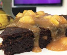 Torta de Chocolate com Banana da Ana Maria  (Foto: Daniela Meira )