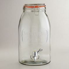 Savannah Embossed Drink Dispenser