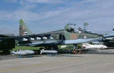 Sukhoi Su-25 « Frogfoot » @ Sergy