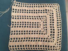 Rectangular Mesh Bag Making - Free Crochet Bag, Crochet Tote, Crochet Handbags, Crochet Hooks, Crochet Shrug Pattern, Crochet Patterns, Filets, Macrame Patterns, Crochet For Beginners