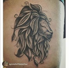 LouJah - Cute Tattoo ^^ #tattoos #tatouage #tattooidea #lion #wild #wildlife #animal #boho #bohostyle #bohemian #ink #tattooed #idea