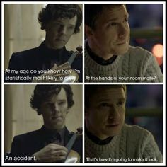 funny sherlock and john | Esther Jones: I Just Live Here: Sherlock Cooper? Sheldon Holmes?