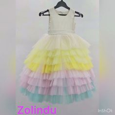 Baby Girl Party Dresses, Birthday Girl Dress, Birthday Dresses, Little Girl Dresses, Baby Dress, Girls Dresses, Flower Girl Dresses, Kids Dress Wear, Kids Gown
