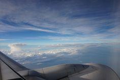 飛行機から✈