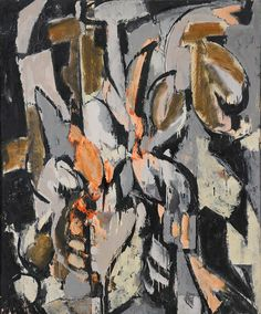 Cauldron  (1956), Lee Krasner, #art #abstract