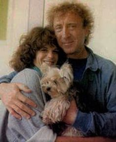 """Gilda Radner & Gene Wilder. She died too young (BRCA related ovarian cancer, not even discovered yet. He testified before congress about her familial cancer history of ovarian cancer and said """"she didn't have to die"""" ). Now together again."""