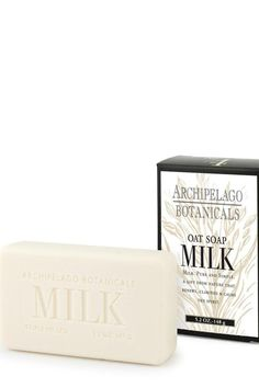 A rich blend of dried milk proteins and gentle ingredients cleanse and gently scrub the skin. Use daily even on dry skin for a wonderful clean feeling without a heavy perfume fragrance.  Net wt 5.2 oz - 148 g  Soy Milk Soap by Archipelago Botanicals. Home & Gifts - Gifts - Scents & Bath Alabama