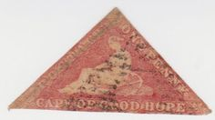 """Cape of Good Hope # """"Hope"""" Seated. Issued on September Stamp Collecting, Postage Stamps, Envelopes, South Africa, Postcards, Hoop, Bohemian Rug, Cape, Empire"""