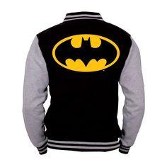 Batman Baseball Jacke The Dark Knight GrÃße S. Logo Batman, I Am Batman, Batman Vs Superman, Batman Stuff, Dc Comics, Batwoman, Batgirl, Lego Friends, Dc Clothing