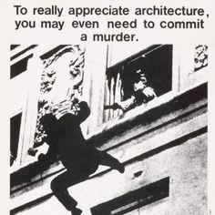 Bernard Tschumi, Advertisements for Architecture