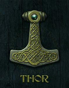 Celtic hammer of Thor