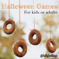 BrittsFavThings: Favorite Halloween Games