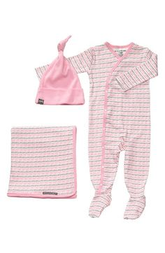 Petunia Pickle Bottom Footie, Blanket & Hat Set (Infant) available at #Nordstrom