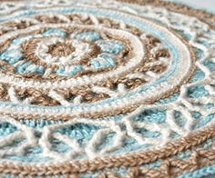 This is a sneak peek of a new mandala design in overlay crochet which will be relased on Friday, February 19. If you like it - please, feel free to add it to your queue not to miss the release