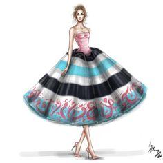 50 fashion illustrations by Shamek Bluwi - The Fashion CoffeeThe Fashion Coffee