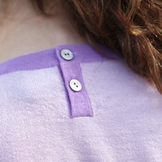 Love the two tone detail on our Nerissa top. Plus the mother of pearl buttons give it such a luxe feel!