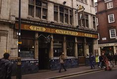 The Intrepid Fox in Wardour Street. This has been a rock pub for decades. Allegedly, Rod Stewart had a fight with Mick Jagger in here because Mick stole Ron Wood for The Stones from The Faces. That's just one of the stories. The landlord was only given 3 weeks notice to get out!