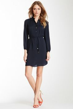 Satin Shirt Dress by Juicy Couture on @HauteLook