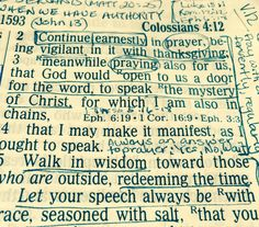 Do Ipray like I mean it?  With fervency, with expectation, with contrition, with gratitude and adoration formy awesome God? We're studying the book Colossians atour Tuesday night Bible s…