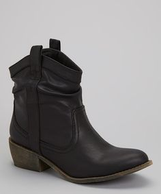 Take a look at this Black Taylor Boot on zulily today!