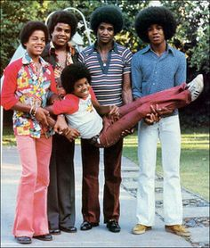 10. The Jackson 5 consisted of 5 brothers (Jackie, Jermaine, Marlon, Michael, and Tito). They were the hottest group of their time, having 4 single shoot to cross#1 on billboard all in the same year.