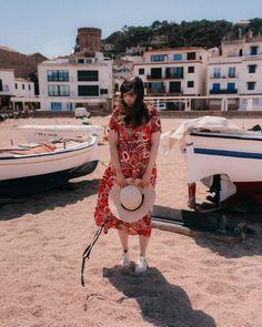 Rosie Dress Midi Lei by King Louie (beautiful travel inspired pattern)