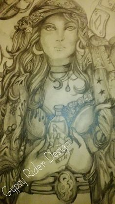 ..Love Being a Gypsy.. Art By: Gypsy Rider
