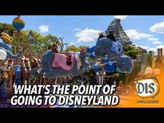 (1673) What's the Point of Going to Disneyland? - YouTube What's The Point, Disneyland Resort, Youtube, Youtubers, Youtube Movies