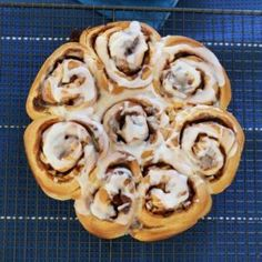 These Apple & Cinnamon Scrolls take 10 minutes to prepare, require no proving time at all... and taste amazing! Plus they can be frozen for up to 3 months.