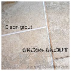 Homemade cleaner, grout cleaner, DIY Grout Cleaner - I tried this last night and it works like a Dream - Heat 1/4 cup vinegar to very hot in microwave, mix 2 teaspoons cream of tarter well - clean grout with solution and toothbrush, only takes a couple of passes with the toothbrush.  Bleaches grout back to fabulous white - just wipe with clean sponge.  Takes a while to do a whole floor but well worth the effort the results - incredible for all natural clearner - Dottie