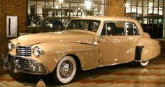 1948 Lincoln Continental Coupe - Auburn-Cord-Duesenberg Museum