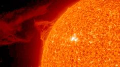 INCOMING SOLAR STORM: 7 MAY 2012  Time & Date: Solar storm expected at 1 AU 4:00 10 May 2012 GMT  Estimated speed: 550 kilometres per second  Proximity to Earth: Miss