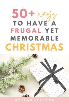 Christmas can be very expensive but with the right planning and organization, it can turn itno a frugal holiday season and still be memorable. In this post, I'll show you how you can spend Christmas on a budget while still having lots of fun with your famiy and friends. Check out this post to find out how you can save money on Christmas decorations, Christmas presents, Christmas parties, food and so much more! Inexpensive Christmas Gifts, Christmas On A Budget, Christmas Parties, Christmas Presents, Christmas Decorations, Holiday, Get Gift Cards, Parties Food, Frugal Living Tips