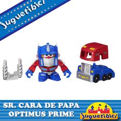 Sr. Cara de Papa Optimus Prime Transformers